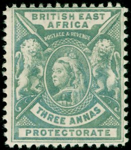 BRITISH EAST AFRICA SG69, 3a grey, M MINT. Cat £12.