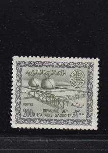 Saudi Arabia Scott # 341 VF original gum mint never hinged scv $ 500 ! see pic !