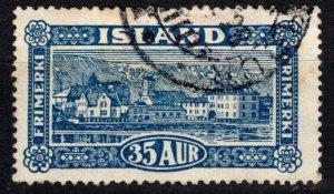 Iceland #147  F-VF Used CV $9.50  (X5730)