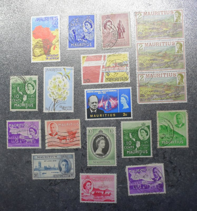 MAURITIUS  Stamps  stock page  4F     ~~L@@K~~