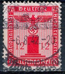 Germany; 1938: Sc. # S6: O/Used Single Stamp