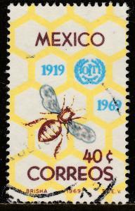 MEXICO 1006 50th Anniv of Int Labor Organization. Used. F-VF. (231)