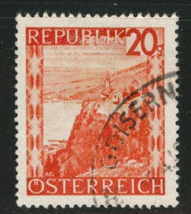 Austria Scott 504 Used Stamp From 1947 48 Set HipStamp