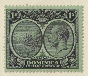 DOMINICA 77  MINT LIGHTLY HINGED OG * NO FAULTS EXTRA FINE!