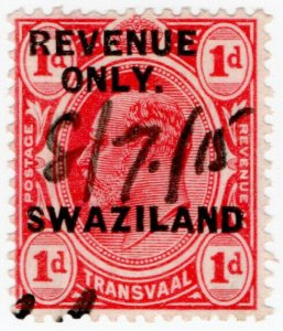 (I.B-BOB) Swaziland Revenue : Duty Stamp 1d