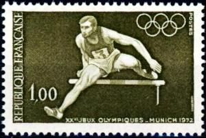 France #1348 20th Olympic Games Munich 1972 - MNH