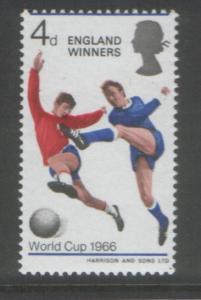 Great Britain 1966 Winners (1) Scott # 465