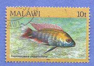 Malawi Scott #432 Fish, used