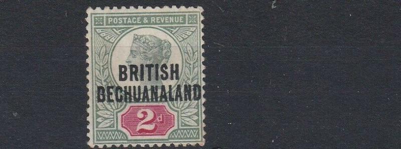 BECHUANALAND 1891  S G 34     2D  GREEN & CARMINE    MH