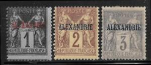 French offices in Egypt 1 - 3 mh 2013 SCV $7.50