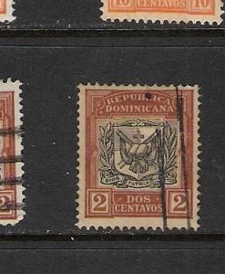 DOMINICAN REP. DOMINICANA 128 VFU ARMS K597 C