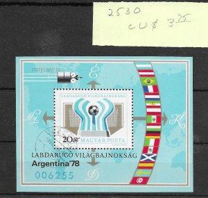 Hungary #2530 MNH - Sourvenir Sheet - CAT VALUE $3.75