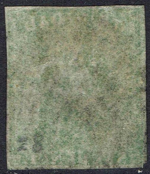 TRINIDAD 1859 BRITANNIA 6D IMPERF USED