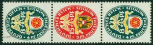 Germany 1929 Nothilfe Michel S69 MNH Welfare Aid Semipostal Se-Tenant 75852