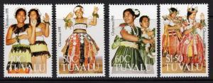 TUVALU SG617/20 1991 CHRISTMAS MNH
