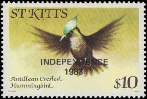1983 St Kitts #113-122, Complete Set(10), Never Hinged
