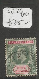 Leeward Islands SG 26 VFU (4cqv)