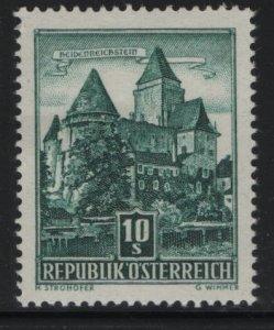 AUSTRIA, 630, HINGED, 1957-61, Heidenreichstein castle