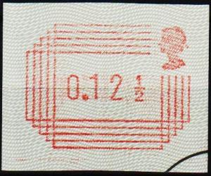 Great Britain. 1984 12 1/2p Frama. Fine Used