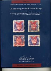 Siegel Sale of Outstanding US Stamps