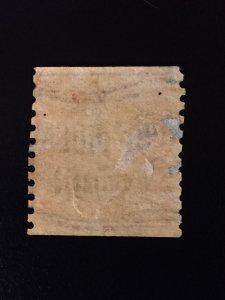 #491, MNH, OG, PreCancel, DOUBLE Impression Error, type II, perf 10, coil stamp