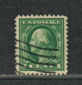 US Sc#498 Used/EF, Jumbo!