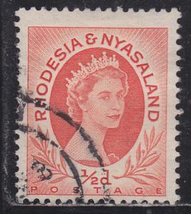 Rhodesia & Nyasaland 141 Queen Elizabeth II 1954
