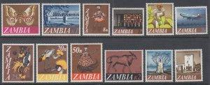 Zambia 39-50 MNH VF