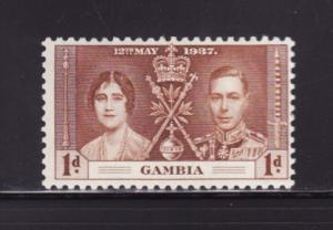 Gambia 129 MH King George VI Coronation