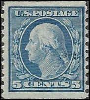 496 Mint,OG,LH... SCV $3.25