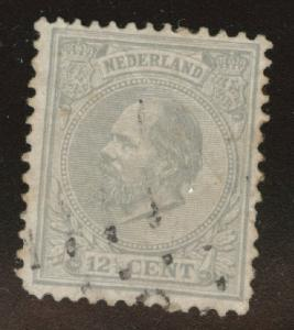 Netherlands Scott 26 used from 1872-1888 set