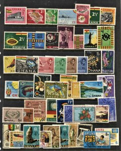 STAMP STATION PERTH Ghana #49 Mint / Used Selection - Unchecked