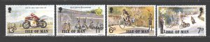Isle Of Man. 1977. 97-100. Motor Racing, Sport. MNH.