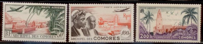 Comoro 1950 SC# C1-3 MOG-NH CH