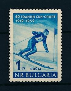 [75225] Bulgaria 1959 Wintersport Skiing  MNH