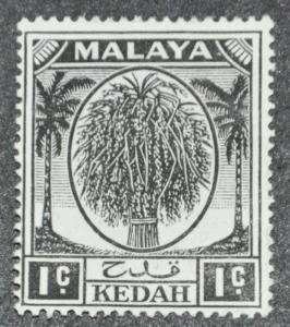 DYNAMITE Stamps: Malaya Kedah Scott #61 – UNUSED