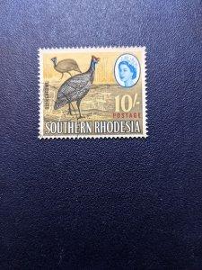 So. Rhodesia 107 VF, CV $8.50