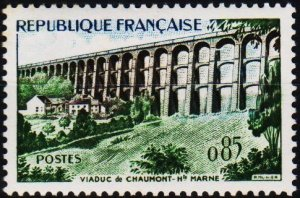 France. 1960 85c S.G.1466 Unmounted Mint