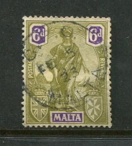 Malta #105 Used