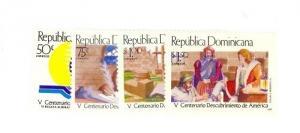 Dominican Republic Scott 1102-1105 NH    [ID#428313]