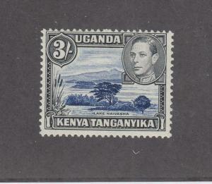 KENYA UGANDA & TANGANIKA # 82a MLH KGV1 3sh CAT VALUE $35