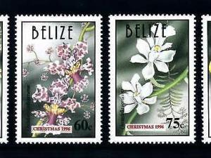 [79872] Belize 1996 Flora Flowers Blumen Orchids Christmas  MNH