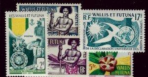 Wallis & Futuna Islands SC#149-153 Mint VF SCV$23.00...Worth a Close Look!