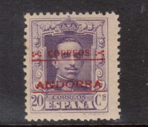 Spanish Andorra #55 Mint