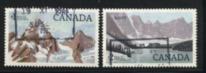 Can #934,936   -2  used VF  PD