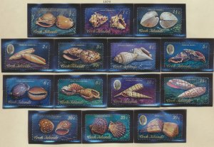 Cook Islands Stamps Scott #381 To 399, Mint Never Hinged, Short Set