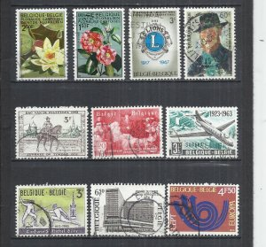 TEN AT A TIME - BELGIUM - POSTALLY USED COMMEMORATIVE 53