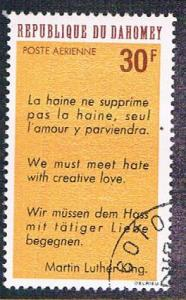 Dahomey C71 Used MLK Quote (BP0978)