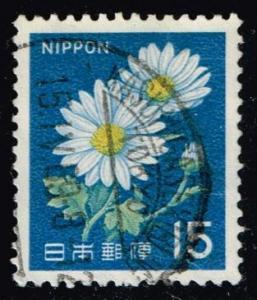 Japan #914 Chrysanthemums; used (0.25)