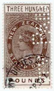 (I.B) New Zealand Revenue : Stamp Duty £300
